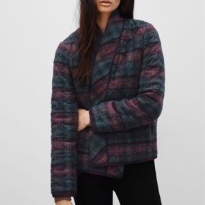 Wilfred Free Quilted Plaid Cotton Jacket